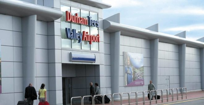 Durham Tees Valley Airport launch