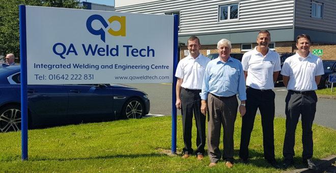 QA Weld Tech broadens its horizons