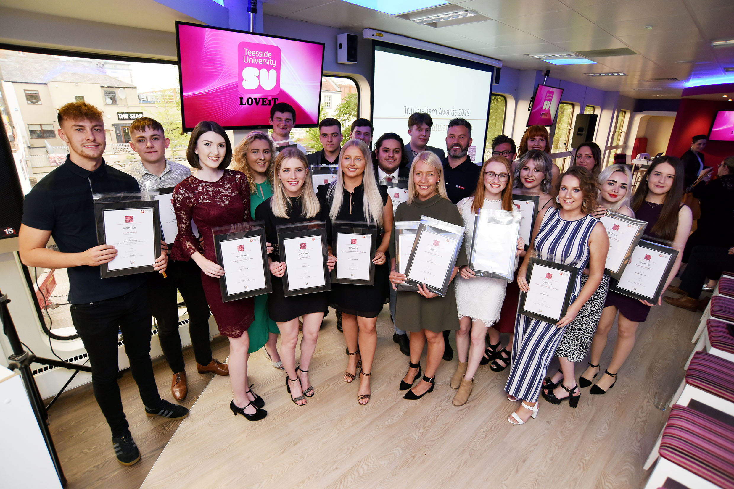 SCDT Journalism awards