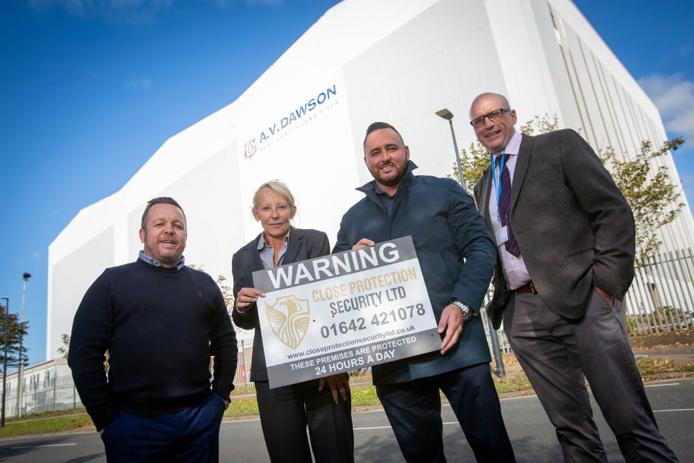 Security firm hits £1m turnover with contract win