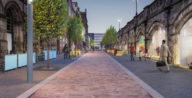 Key funding boost for Historic Quarter