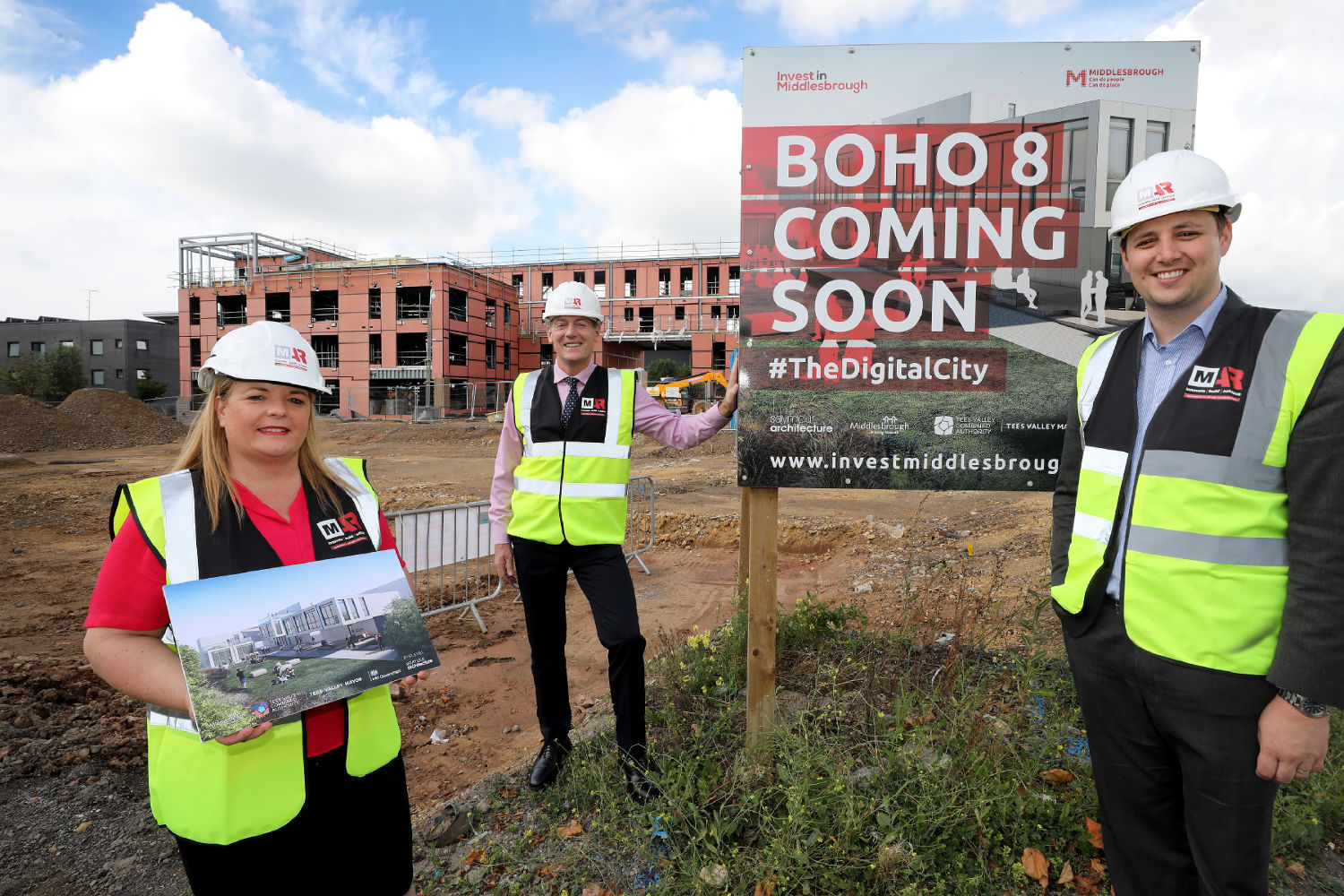 Work gets under way on Boho 8