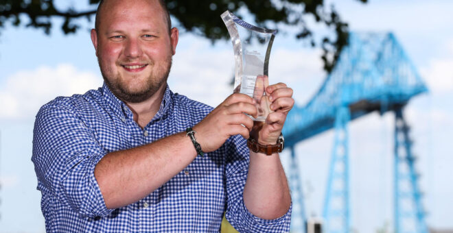 Digital specialists celebrate success in first Tees Tech Awards