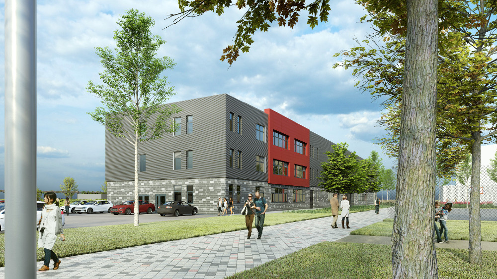 First look at Middlesbrough College expansion
