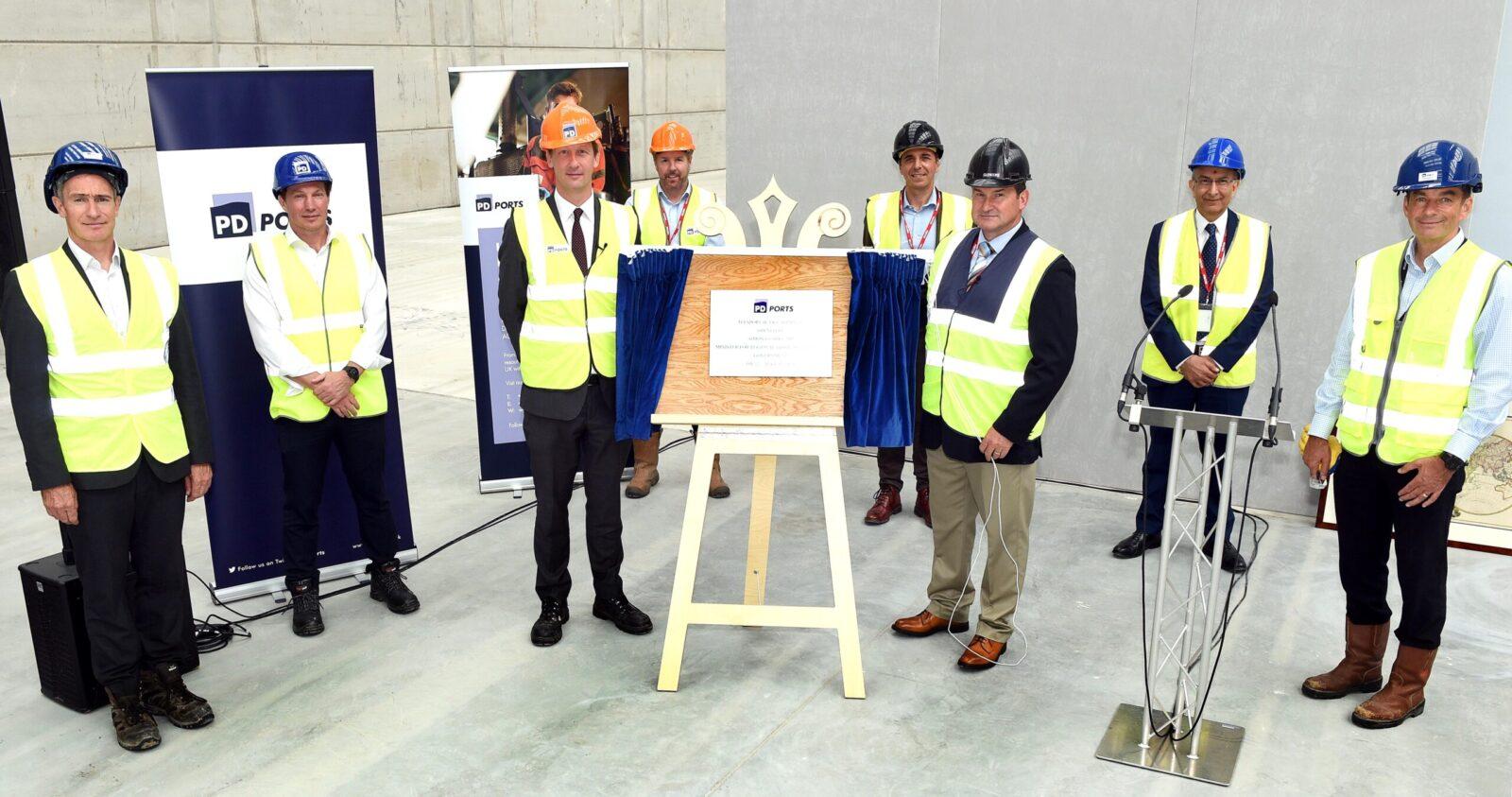 Minister opens multi-million pound bulks terminal at Teesport