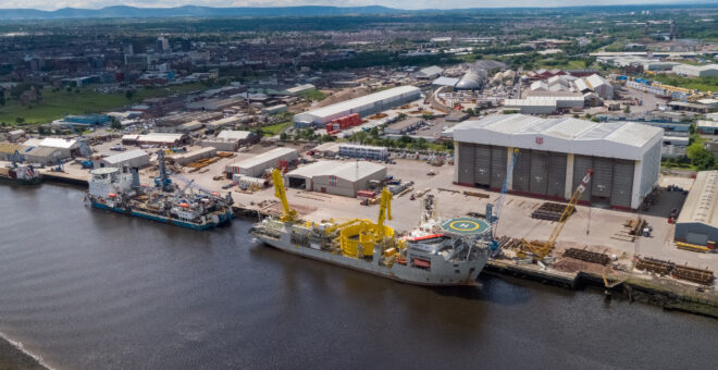 Port of Middlesbrough is reborn