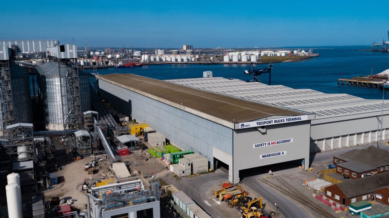 Teesport Bulks Terminal signs third major deal in eight months