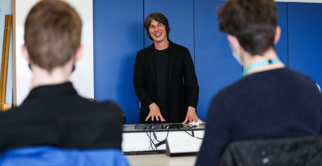 Prof Brian Cox hails £20m investment in Teesside's tech future