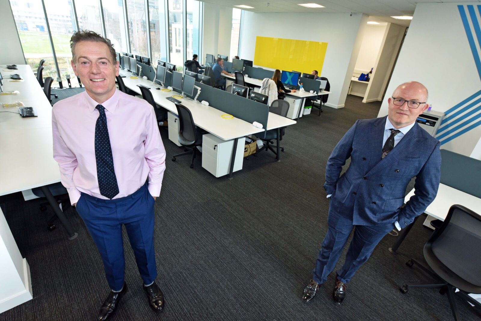 Pensions giant to double staff in Boro move