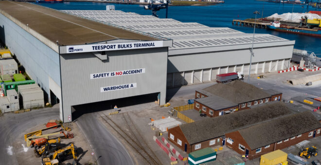 PD Ports celebrates 60 per cent increase in bulk cargo volumes one year since opening Teesport Bulks Terminal